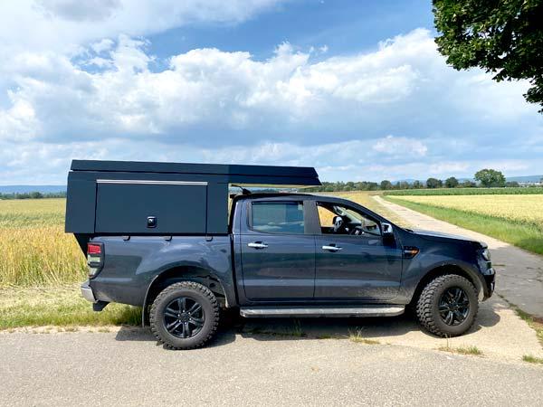 FIFTYTEN Truckbed Camper Individualausbau seitlich